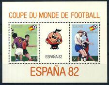 Congo Zaire 1981 Mi. Bl.40 Foglietto 100% ** Calcio