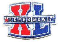 NFL-AFL CHAMPIONSHIP GAME SUPER BOWL XL SUPERBOWL SB 40 PATCH STEELERS SEAHAWKS