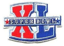 NFL-AFL CHAMPIONSHIP GAME SUPER BOWL XL SUPERBOWL SB 40 PATCH STEELERS SEAHAWKS