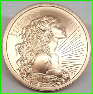 Justice Silver Shield 2oz Copper 2020 MiniMintage BU