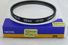 52mm Hoya UV(0) Filter + Free UK Postage