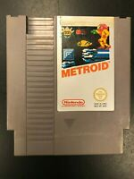Metroid NES PAL Cartridge Only Tested 1985 DAS NES-MT-NOE Nintendo See Pictures