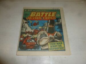 BATTLE ACTION FORCE Comic - Date 09/06/1984 - UK Paper Comic