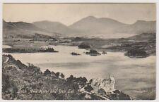 Argyllshire postcard - Loch Awe Hotel and Ben Lui