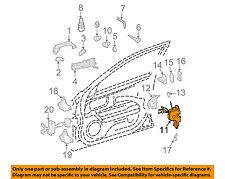 MERCEDES OEM 07-09 E550 Front Door-Lock Actuator Motor 2117200635