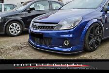Cup alerón labio para Opel Astra H OPC año 05-10 Front alerón enfoque difusor en