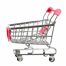 Mini Einkaufswagen Supermarkt Handwagen Einkaufszweckwagen Modus Lagerung Spi ES