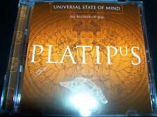 Universal State Of Mind All Because Of You Rare UK 3 Track CD Single