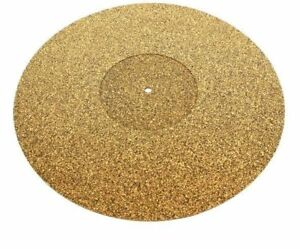 "Tonar Cork 'n Rubber Turntable Mat. Fits all 12"" Platters. Free 1st Post. DECO"