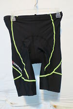Louis Garneau Neo Power Motion Men's Cycling Shorts XL Black/ Bright Yellow