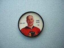 1961/62 SHIRRIFF PLASTIC NHL HOCKEY COIN #26 ELMER VASKO NICE!! 61/62 SHIRRIFF