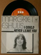 "7"" Margriet Eshuys I Could Never Leave You Holland Ps Cbs 1980 Lucifer"