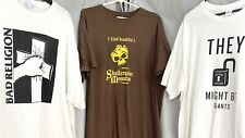 Bad Religion, They Might Be Giants, Jonathan Coulton Lot of 3 Rock Band Shirts