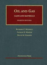 The Law of Oil and Gas - Cases and Materials