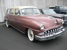 Old Photo.  1953 DeSoto Station Wagon Automobile