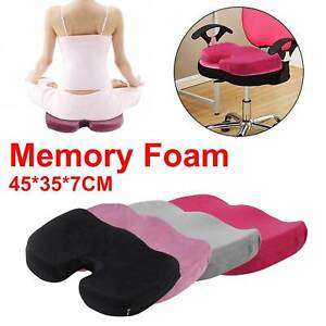 Memory Foam Seat Cushion for Back Support,Sciatica Relief,Coccyx,Tailbone Hip