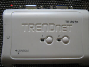TRENDnet- TK-207K- 2-Port USB KVM Switch Kit- same day free ship!!!!