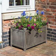 Alderley Hardwood Rectangular Planter Garden Box Trough