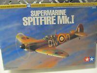 199B - Tamiya 60748 / 1:72 - Bausatz Supermarine Spitfire Mk.I - top in OVP