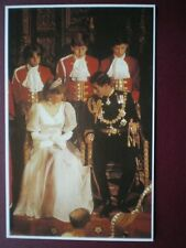 POSTCARD ROYALTY ROYAL WEDDING 1981 THE STATE OPENING OF PARLIAMENT NOV 1981