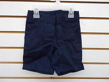 Girls Navy Uniform Adjustable Waist Shorts Size 4 - 5