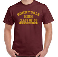 Buffy The Vampire Slayer T-Shirt Sunnydale High Class Of '99 Mens Funny Inspired