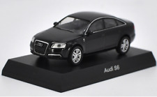Kyosho 1/64 Alloy car model,Audi S6 Collect gifts Red and Black