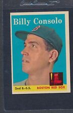 1958 Topps #148 Billy Consolo Red Sox EX *490