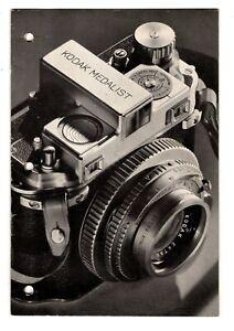 Kodak Medalist Cameras - Manual - Catalog 1940's - 1950's