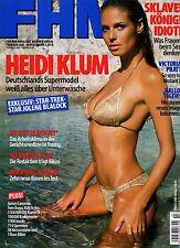 FHM 02/2003   Heidi Klum & Alexandra Klim & Victoria Pratt*  Februar/2003