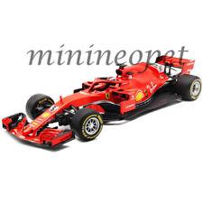 Bburago Ferrari Course F1-2018 Sf71h #7 Kimi Raikkonen 18-36808kr 1//43