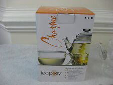 Teaposy Blooming Tea Charme Gift Set - Glass Teapot & Cup with Tea~New Opened