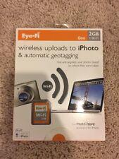 Eye-Fi Geo Wi-Fi 2GB Wireless Upload to iPhoto & Auto Geotagging for Mac