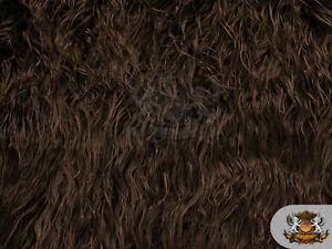"""Faux Fur Long Pile MONGOLIAN SHEEP Fabric / 64""""W / Sold By the yard"""