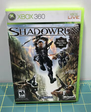 Shadowrun for Microsoft X-Box 360 - Tested & Works