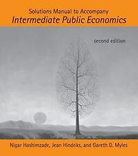 Solutions Manual to Accompany Intermediate Public Economics (MIT Press) by Hash