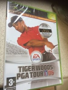 Tiger Woods PGA Tour 06 (Microsoft Xbox, 2005) - New