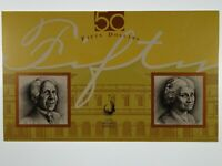 1995 Fifty Dollars Fraser/Evans Paper and Polymer First and Last Banknote Folder