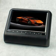 """22,9cm 9"""" Auto Kopfstützen Monitor Display für DVD Player USB SD, schwarz"""
