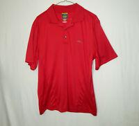 Greg Norman Shark Short Sleeve Polo Golf Shirt Size MEDIUM M Mens Clothing