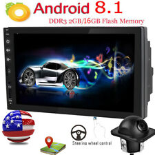 "Car Audio 2-Din 7"" Touchscreen NO Dvd Player Bluetooth Stereo Radio GPS Android"