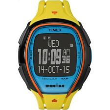 Orologio TIMEX SLEEK 150 LAP TW5M00800 TAP SCREEN Digitale Silicone Giallo Nero
