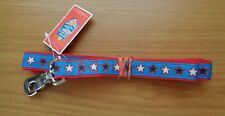"OLD NAVY NYLON LEASH, 1"" X 48"". Patriotic."