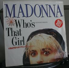 vinyle Madonna who's that girl extended  disque max 45T 30 cm original 80's