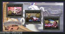 GUINEA 2012 FRENCH CARS  OF THE WORLD  SHEET  MINT NH