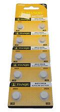 50 x TIANQIU AG3 392A SR41SW LR736 LR41 392 LR736 SR41 Alkaline Watch Battery US