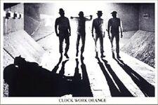 A CLOCKWORK ORANGE Movie Poster - B&W Tunnel Full Size 24x36 - Stanley Kubrick