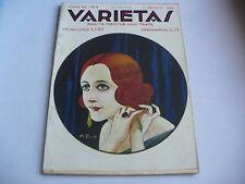 RIVISTA DI CULTURA VARIETAS N.8 1923 BACCELLI FLERES