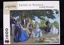 POMEGRANATE ARTPIECE 1000 PIECE FREDERIC BAZILLE FAMILY REUNION
