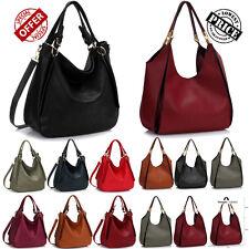 Designer Handbags Womens Ladies Faux Leather Fashion Hobo Satchel Shoulder Bags